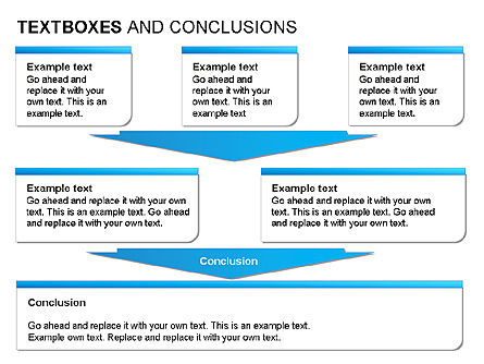 Text Boxes & Conclusions, Slide 9, 00024, Text Boxes — PoweredTemplate.com