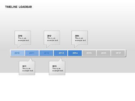 Timeline Preloader Diagrams, Slide 11, 00027, Timelines & Calendars — PoweredTemplate.com