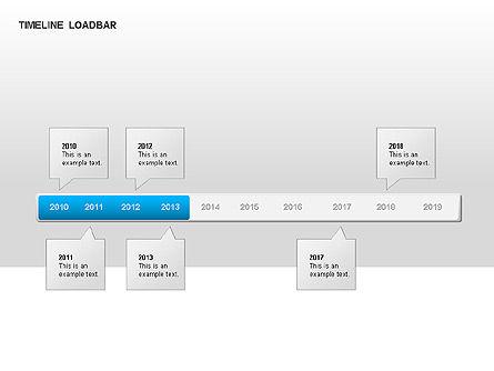 Timeline Preloader Diagrams, Slide 7, 00027, Timelines & Calendars — PoweredTemplate.com