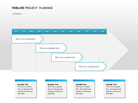 Project Planning Diagrams, Slide 2, 00028, Timelines & Calendars — PoweredTemplate.com