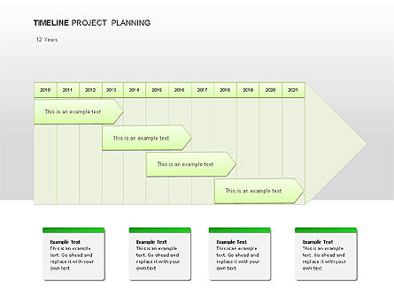 Project Planning Diagrams, Slide 3, 00028, Timelines & Calendars — PoweredTemplate.com
