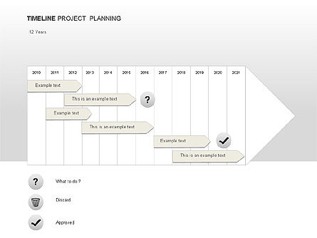 Project Planning Diagrams, Slide 4, 00028, Timelines & Calendars — PoweredTemplate.com