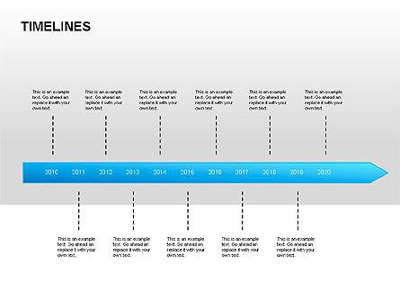 Timelines & Calendars: Timeline Diagrams #00029