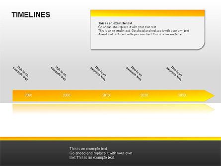 Timeline Diagrams, Slide 10, 00029, Timelines & Calendars — PoweredTemplate.com