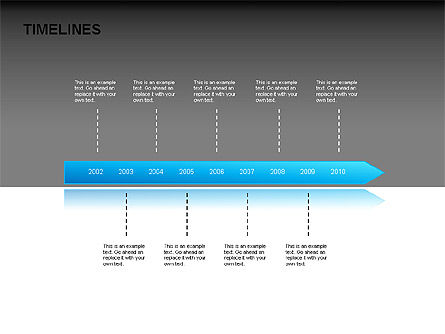 Timeline Diagrams, Slide 5, 00029, Timelines & Calendars — PoweredTemplate.com