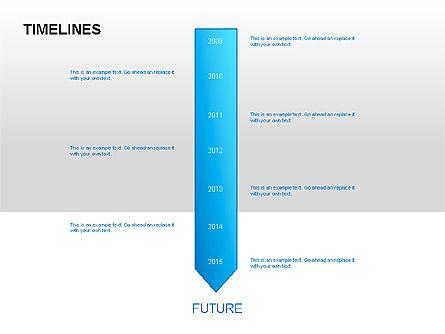 Timeline Diagrams, Slide 9, 00029, Timelines & Calendars — PoweredTemplate.com
