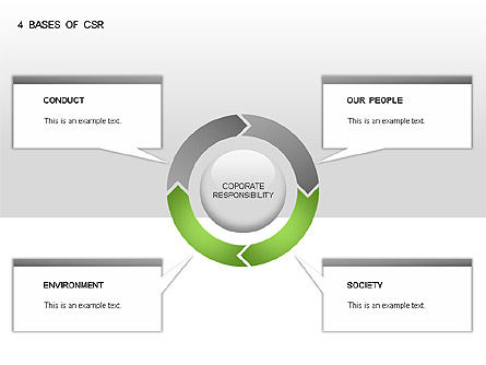 5 Bases of CSR, Slide 6, 00031, Business Models — PoweredTemplate.com