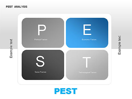 Business Models: PEST Analysis Diagram #00034
