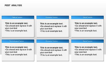 PEST Analysis Diagram, Slide 10, 00034, Business Models — PoweredTemplate.com