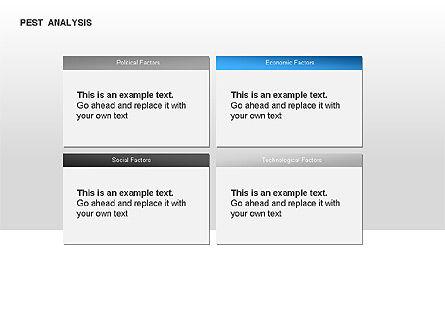 PEST Analysis Diagram, Slide 2, 00034, Business Models — PoweredTemplate.com