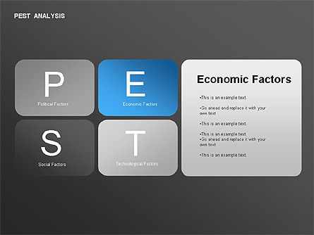 Pest Analysis Diagram For Powerpoint Presentations Download Now