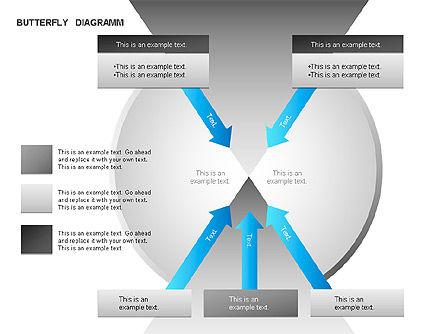 Butterfly Diagram, Slide 10, 00036, Business Models — PoweredTemplate.com
