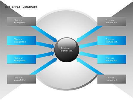 Butterfly Diagram, Slide 5, 00036, Business Models — PoweredTemplate.com