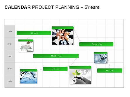 Green Calendar, Slide 10, 00037, Timelines & Calendars — PoweredTemplate.com
