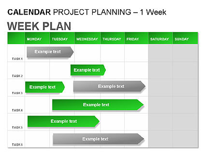 Green Calendar, Slide 4, 00037, Timelines & Calendars — PoweredTemplate.com
