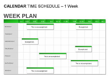 Green Calendar, Slide 5, 00037, Timelines & Calendars — PoweredTemplate.com