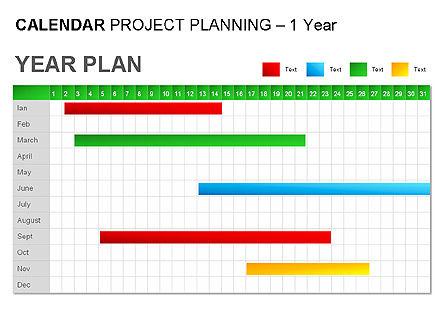 Green Calendar, Slide 6, 00037, Timelines & Calendars — PoweredTemplate.com