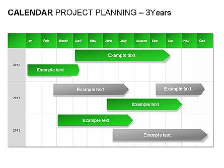 Green Calendar, Slide 9, 00037, Timelines & Calendars — PoweredTemplate.com
