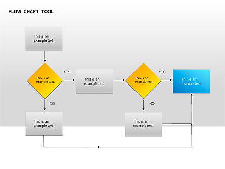 Flow Chart, 00041, Flow Charts — PoweredTemplate.com