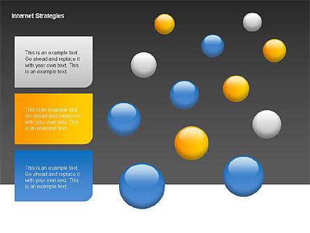 Internet Strategy Diagram, Slide 10, 00042, Process Diagrams — PoweredTemplate.com
