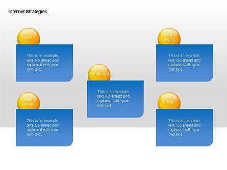 Internet Strategy Diagram, Slide 4, 00042, Process Diagrams — PoweredTemplate.com