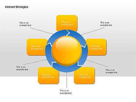 Internet Strategy Diagram, Slide 6, 00042, Process Diagrams — PoweredTemplate.com