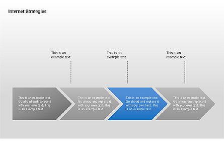Internet Strategy Diagram, Slide 7, 00042, Process Diagrams — PoweredTemplate.com