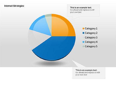 Internet Strategy Diagram, Slide 8, 00042, Process Diagrams — PoweredTemplate.com