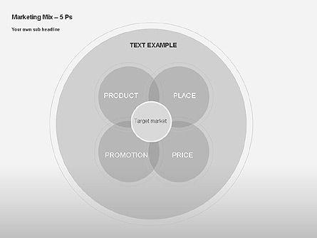 Marketing Mix Diagram, Slide 10, 00043, Business Models — PoweredTemplate.com
