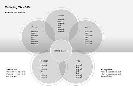 Marketing Mix Diagram, Slide 5, 00043, Business Models — PoweredTemplate.com