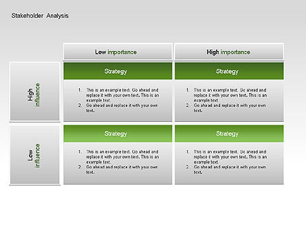 Stakeholder Analysis Charts, Slide 3, 00046, Business Models — PoweredTemplate.com