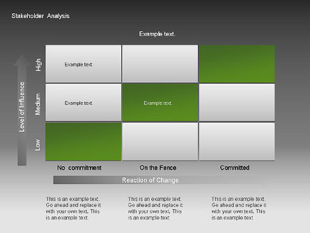 Stakeholder Analysis Charts, Slide 7, 00046, Business Models — PoweredTemplate.com