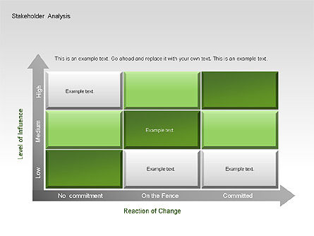 Stakeholder Analysis Charts, Slide 9, 00046, Business Models — PoweredTemplate.com