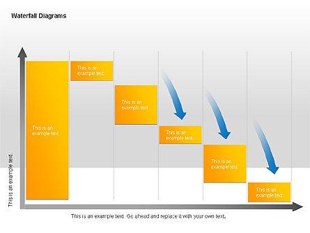 Waterfall Diagrams, Slide 10, 00048, Business Models — PoweredTemplate.com