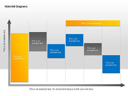 Waterfall Diagrams, Slide 6, 00048, Business Models — PoweredTemplate.com