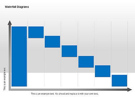 Waterfall Diagrams, Slide 8, 00048, Business Models — PoweredTemplate.com