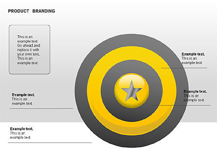 Product Branding Diagram, Slide 9, 00050, Business Models — PoweredTemplate.com