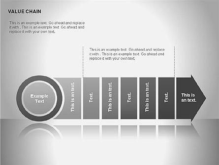 Process Arrows Diagrams, Slide 15, 00051, Process Diagrams — PoweredTemplate.com