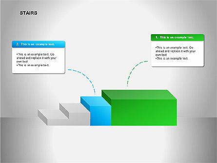 Stairs Diagrams, Slide 10, 00054, Stage Diagrams — PoweredTemplate.com