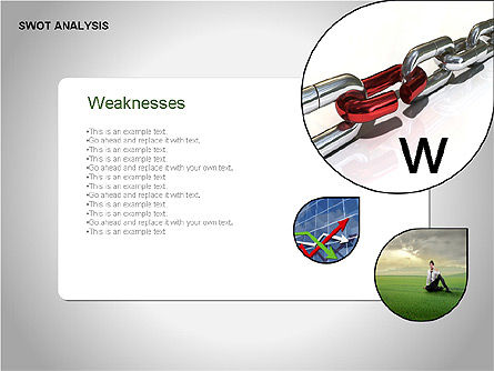 SWOT Analysis Diagram, Slide 5, 00055, Business Models — PoweredTemplate.com