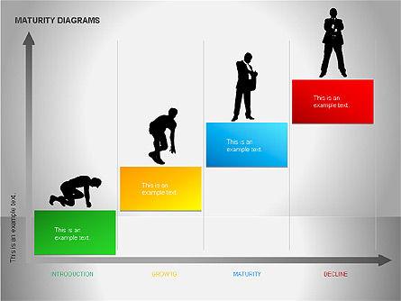 Colorful Maturity Diagrams, Slide 10, 00056, Stage Diagrams — PoweredTemplate.com