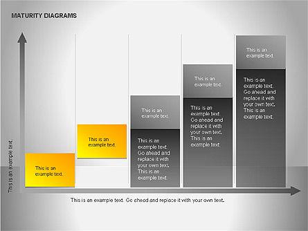 Colorful Maturity Diagrams, Slide 11, 00056, Stage Diagrams — PoweredTemplate.com