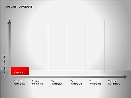 Colorful Maturity Diagrams, Slide 12, 00056, Stage Diagrams — PoweredTemplate.com