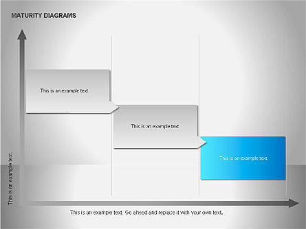 Colorful Maturity Diagrams, Slide 13, 00056, Stage Diagrams — PoweredTemplate.com