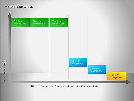 Colorful Maturity Diagrams, Slide 14, 00056, Stage Diagrams — PoweredTemplate.com