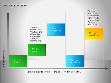 Colorful Maturity Diagrams, Slide 15, 00056, Stage Diagrams — PoweredTemplate.com