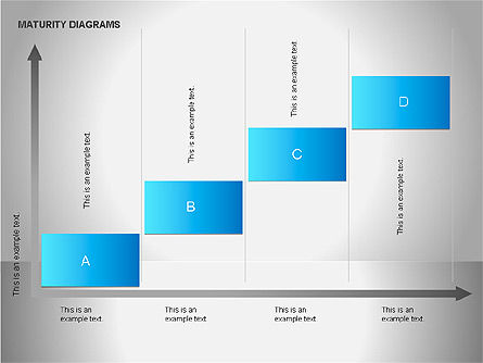 Colorful Maturity Diagrams, Slide 3, 00056, Stage Diagrams — PoweredTemplate.com