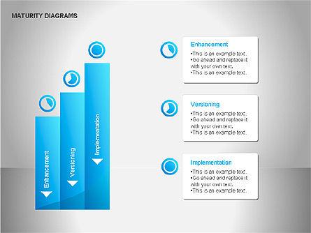 Colorful Maturity Diagrams, Slide 5, 00056, Stage Diagrams — PoweredTemplate.com