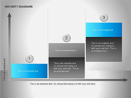 Colorful Maturity Diagrams, Slide 6, 00056, Stage Diagrams — PoweredTemplate.com
