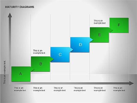 Colorful Maturity Diagrams, Slide 9, 00056, Stage Diagrams — PoweredTemplate.com